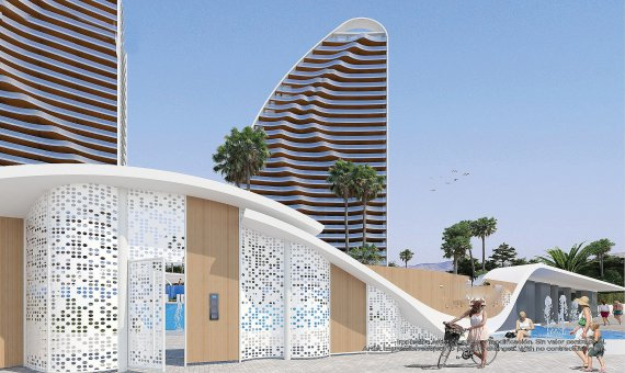 Piso en Alicante, Benidorm, 109 m2, piscina   | 9