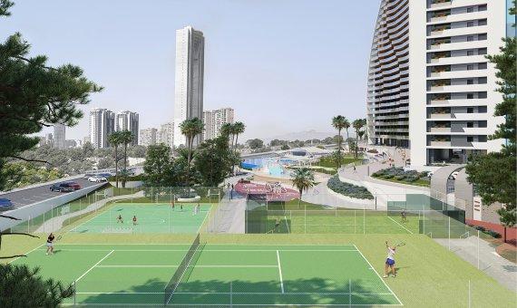 Piso en Alicante, Benidorm, 109 m2, piscina   | 17