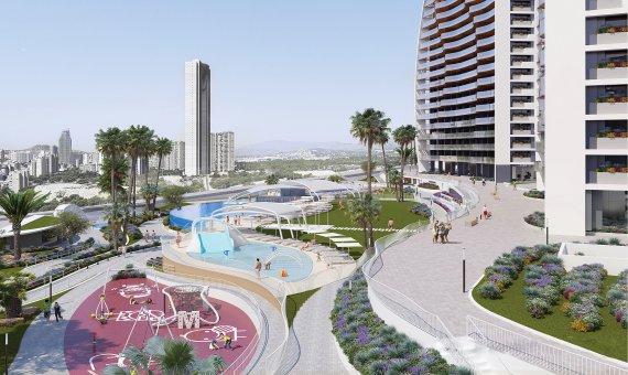 Piso en Alicante, Benidorm, 109 m2, piscina   | 3