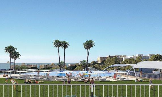 Piso en Alicante, Benidorm, 151 m2, piscina   | 18