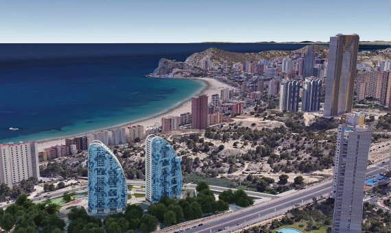 Piso en Alicante, Benidorm, 151 m2, piscina   | 21