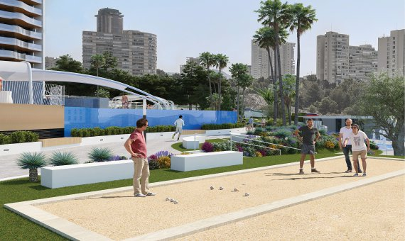 Piso en Alicante, Benidorm, 151 m2, piscina   | 10
