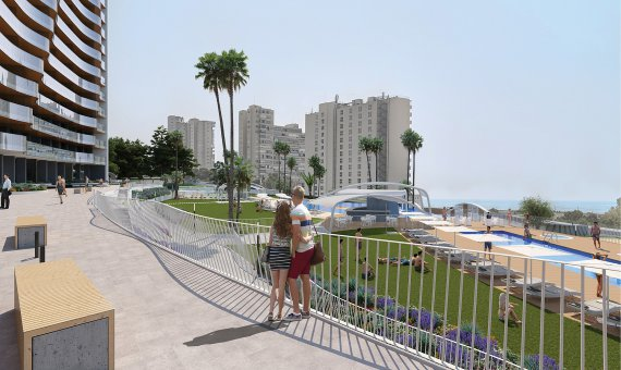 Piso en Alicante, Benidorm, 151 m2, piscina   | 14