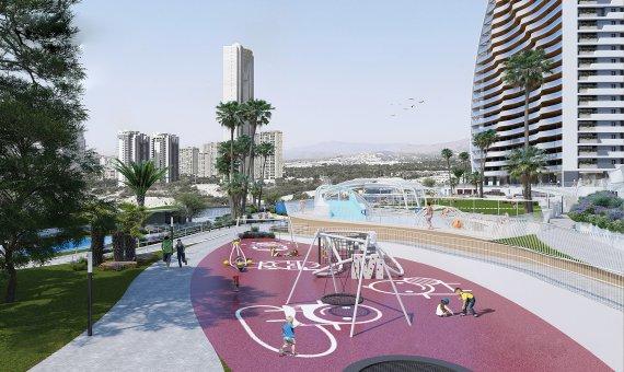 Piso en Alicante, Benidorm, 151 m2, piscina   | 8