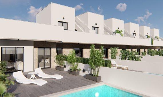 Квартира в Мурсии, Пилар-де-ла-Орадада, 61 м2, бассейн -