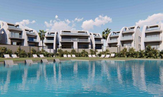 Piso en Alicante, Rojales, 82 m2, piscina -
