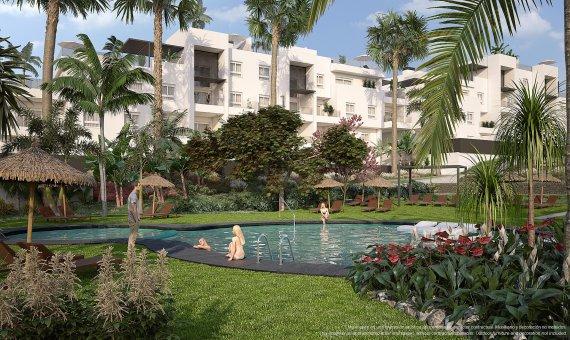 Piso en Alicante, Punta Prima, 85 m2, piscina     2