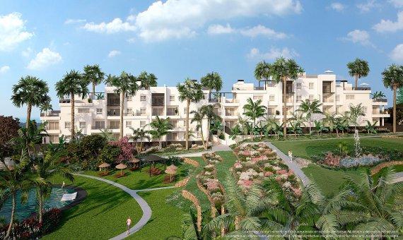Квартира в Аликанте, Пунта-Прима, 85 м2, бассейн -
