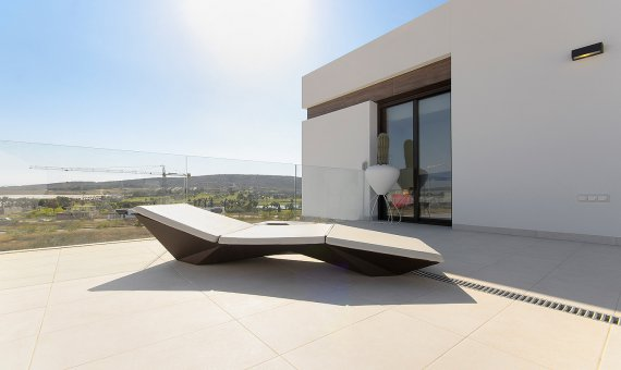 Villa in Alicante, Algorfa, 100 m2, pool   | 2