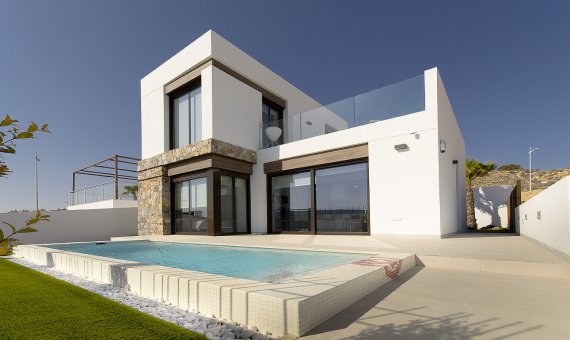 Villa in Alicante, Algorfa, 100 m2, pool   | 1