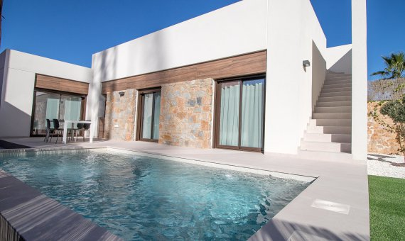 Villa in Alicante, Algorfa, 89 m2, pool   | 1
