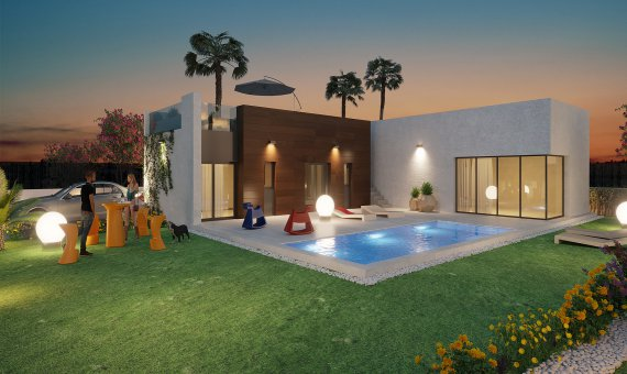 Villa in Alicante, Algorfa, 119 m2, pool   | 6