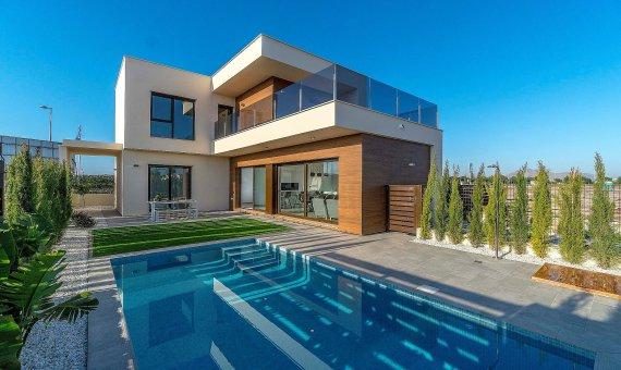 Villa in Murcia, Santiago de la Ribera, 120 m2, pool -