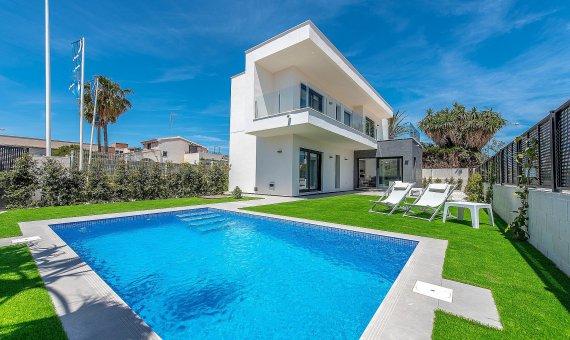 Villa in Murcia, Santiago de la Ribera, 143 m2, pool -