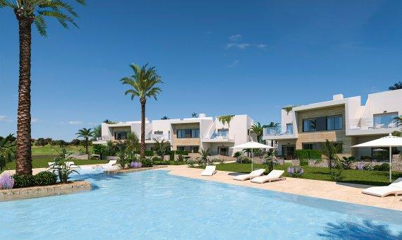 Квартира в Мурсии, Пилар-де-ла-Орадада, 77 м2, бассейн -
