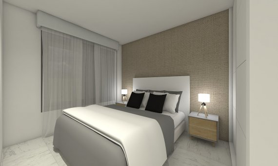 Квартира на последнем этаже в Аликанте, Бенихофар, 90 м2, бассейн   | 9