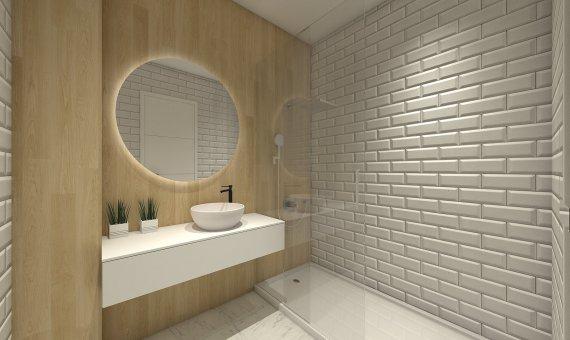 Квартира на последнем этаже в Аликанте, Бенихофар, 90 м2, бассейн   | 14