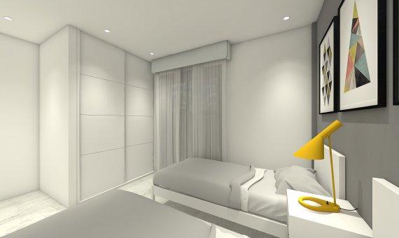 Квартира на последнем этаже в Аликанте, Бенихофар, 90 м2, бассейн   | 12