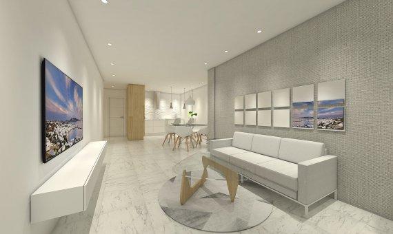 Квартира на последнем этаже в Аликанте, Бенихофар, 90 м2, бассейн   | 5