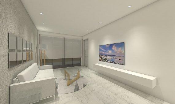 Квартира на последнем этаже в Аликанте, Бенихофар, 90 м2, бассейн   | 4