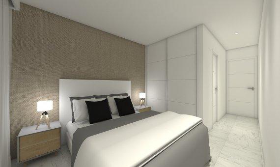 Квартира на последнем этаже в Аликанте, Бенихофар, 90 м2, бассейн   | 8