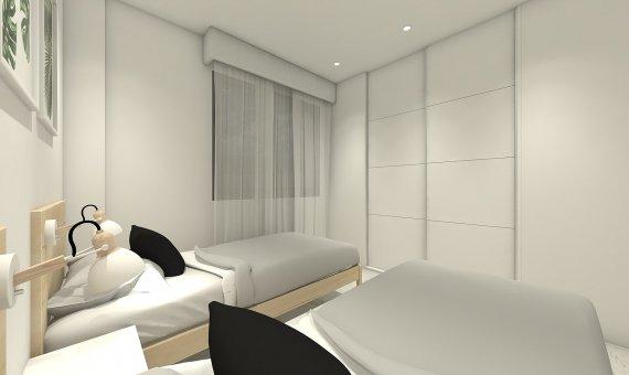 Квартира на последнем этаже в Аликанте, Бенихофар, 90 м2, бассейн   | 11
