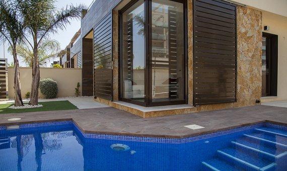 Вилла в Murcia, Сан-Педро-дель-Пинатар - Мар Менор, 103 м2, бассейн -