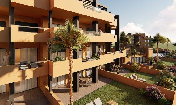Planta baja en Alicante, Orihuela Costa, 90 m2, piscina   | 2