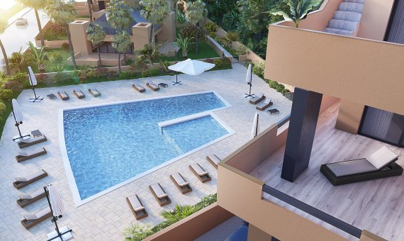 Planta baja en Alicante, Orihuela Costa, 90 m2, piscina   | 8