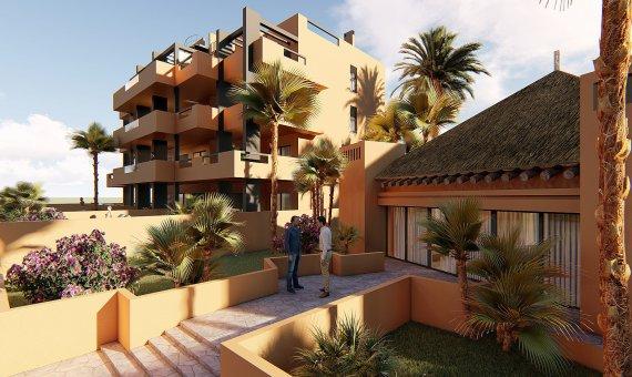 Planta baja en Alicante, Orihuela Costa, 90 m2, piscina   | 6