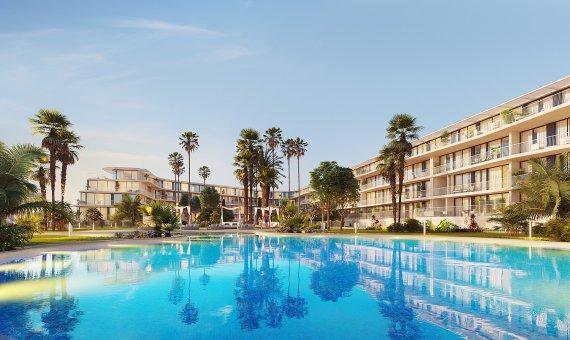 Apartment in Alicante, Denia, 93 m2, pool -