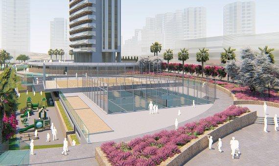 Piso en Alicante, Benidorm, 102 m2, piscina   | 5