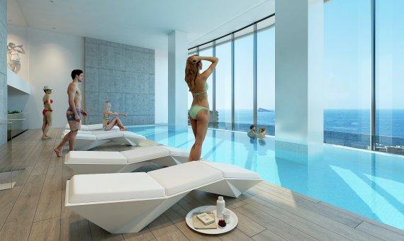 Piso en Alicante, Benidorm, 102 m2, piscina   | 4