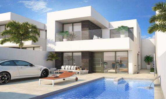Casa adosada en Alicante, Benijófar, 221 m2, piscina -