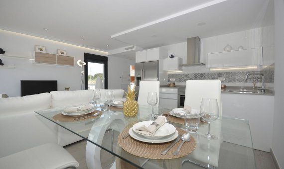 Спаренный дом в Аликанте, Пилар-де-ла-Орадада, 129 м2, бассейн   | 4