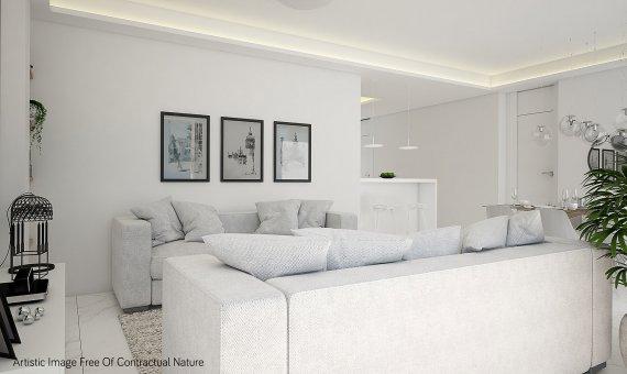 Квартира в Аликанте, Гвардамар-дель-Сегура, 91 м2, бассейн   | 8