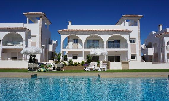 Planta baja en Alicante, Rojales, 84 m2, piscina -