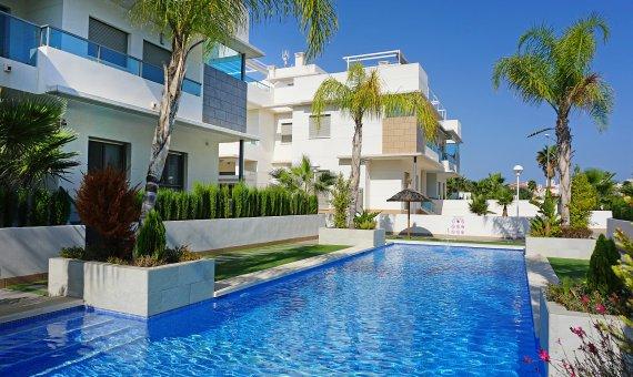 Piso en Alicante, Rojales, 102 m2, piscina -
