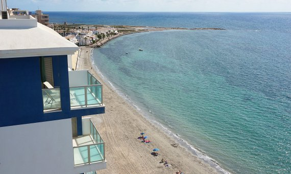Apartment in Murcia, La Manga del Mar Menor, 155 m2, pool -
