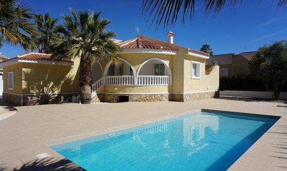 Villa in Alicante, Rojales, 130 m2, pool -