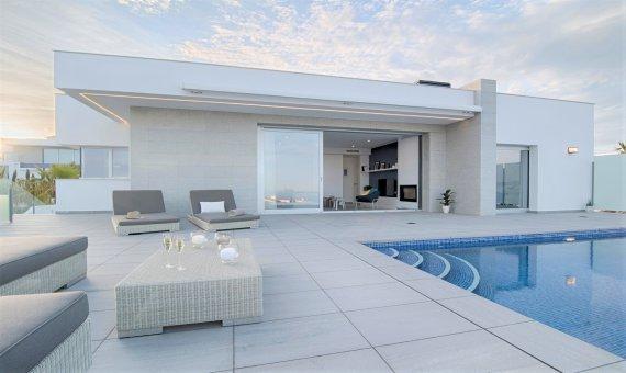 Villa in Alicante, Benitachell, 346 m2, pool -