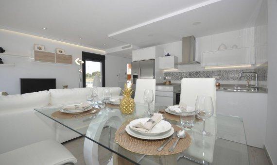 Спаренный дом в Аликанте, Пилар-де-ла-Орадада, 102 м2, бассейн   | 5