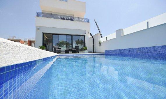 Спаренный дом в Аликанте, Пилар-де-ла-Орадада, 102 м2, бассейн   | 2