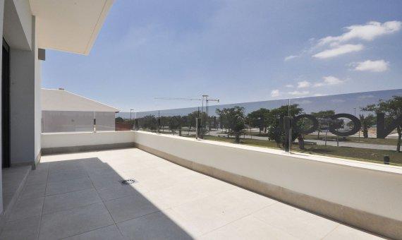 Спаренный дом в Аликанте, Пилар-де-ла-Орадада, 102 м2, бассейн   | 13