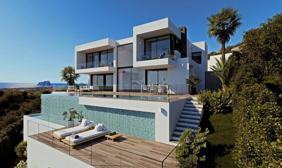 Villa in Alicante, Benitachell, 534 m2, pool -