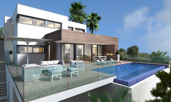Villa in Alicante, Benitachell, 542 m2, pool -