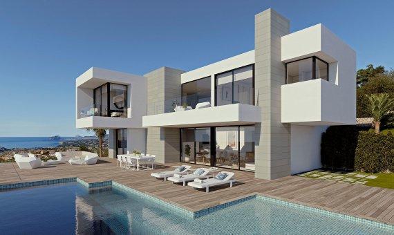 Villa in Alicante, Benitachell, 606 m2, pool -