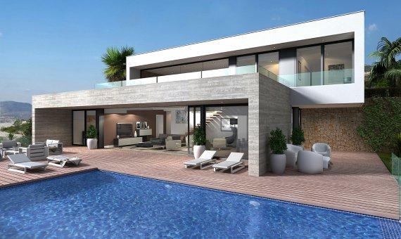 Villa in Alicante, Benitachell, 638 m2, pool -