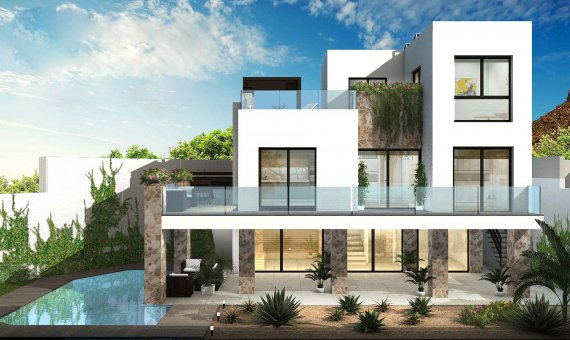 Villa in Alicante, Rojales, 302 m2, pool -