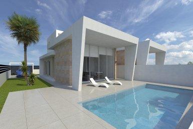 Villa in Alicante, Torrevieja, 124 m2, pool